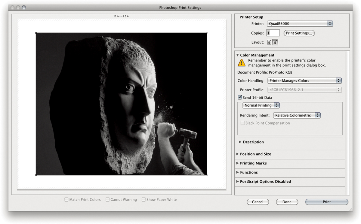 Printing a Black-and-White Image | Jeff Schewe on Making a Digital