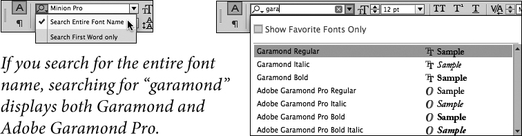 Character Formatting   Working with Type in Adobe InDesign CC   Peachpit