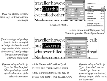 Character Formatting | Working with Type in Adobe InDesign