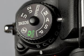 nikon d40 how to change aperture