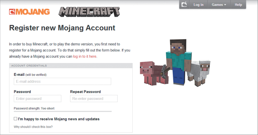 Purchasing Minecraft The Minecraft Guide For Parents
