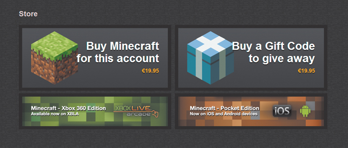 Purchasing Minecraft | The Minecraft Guide for Parents: Getting ...
