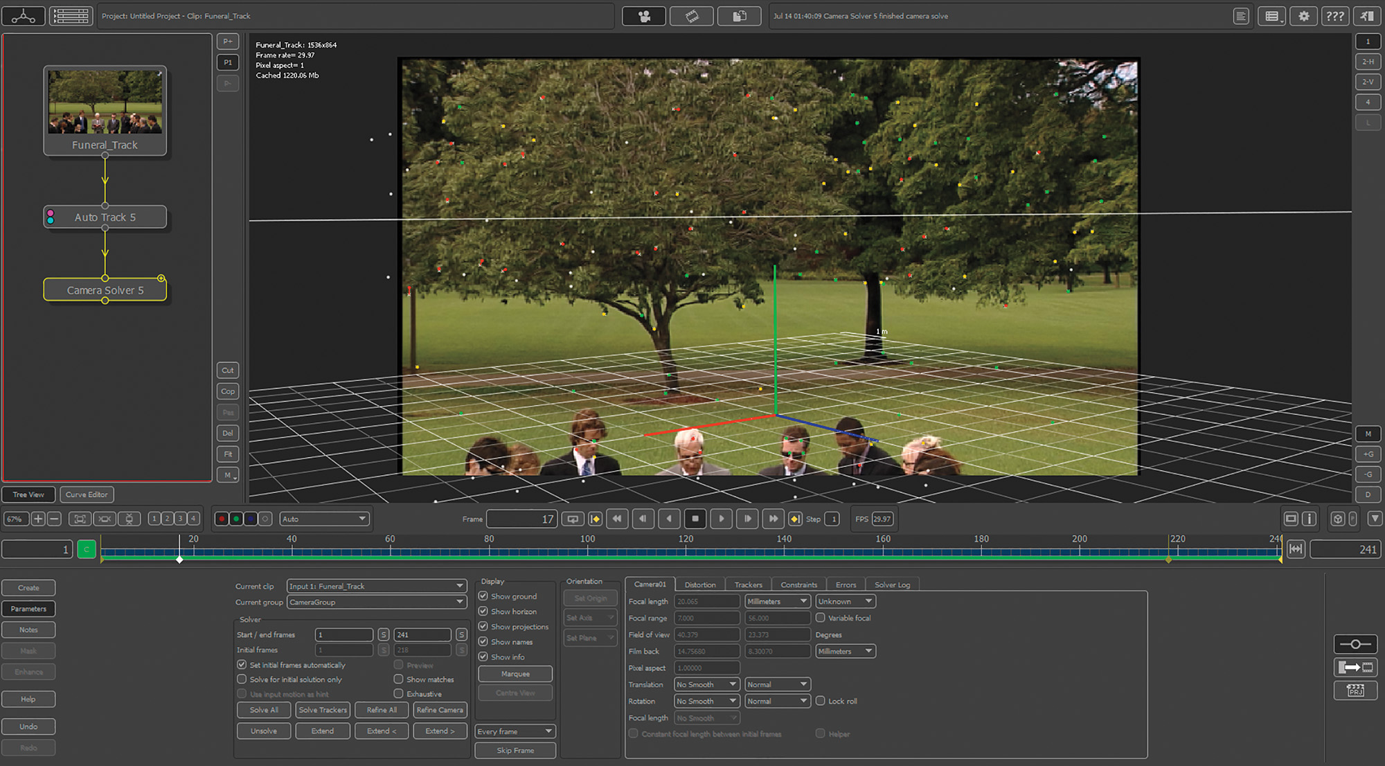 3d motion tracking digital visual effects and compositing 3d 3d motion tracking digital visual effects and compositing 3d for vfx peachpit fandeluxe Gallery