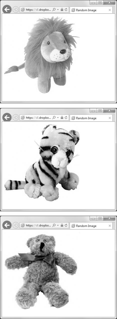 Displaying a Random Image | Working with Images in