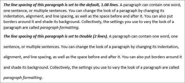 Modify the Structure and Appearance of Text in Microsoft