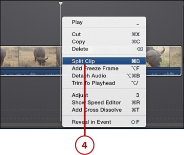 Splitting Clips | Editing and Correcting Movie Clips in