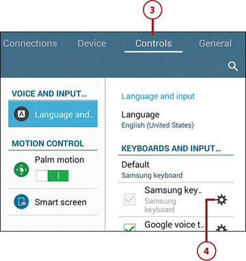 Changing Keyboard and Voice Settings | Customizing Android to Your