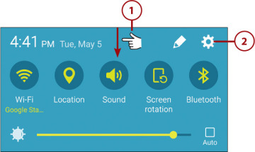Changing Screen Fonts and Sizes | Making the Galaxy S6 More