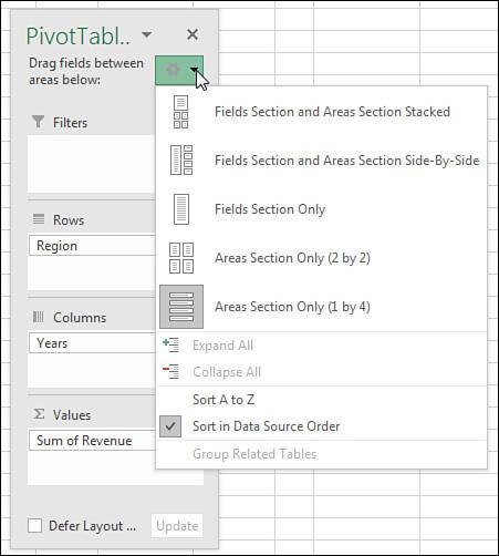 Grouping Sorting And Filtering Pivot Data Microsoft