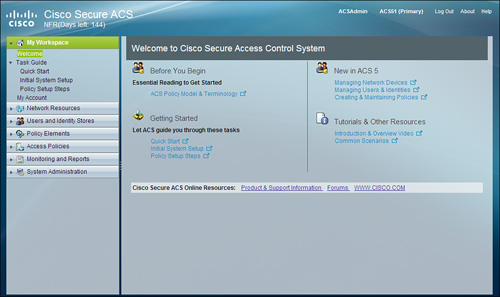 Cisco AAA Identity Management Security: Getting Familiar