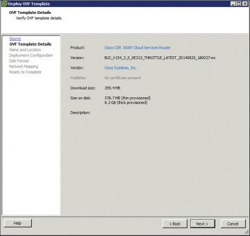 Installing The Csr 1000v On A Vmware Hypervisor Csr 1000v