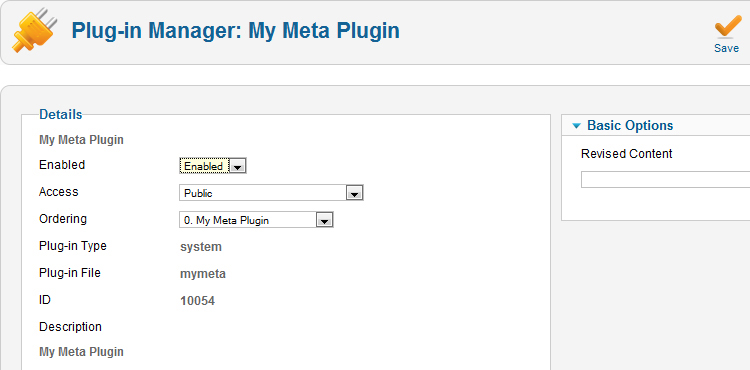 Tour of Selected Core Plugins | Extending Joomla! with