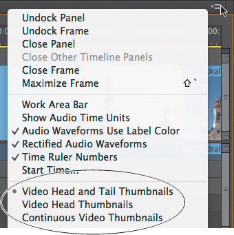Working with the Timeline in Adobe Premiere Pro CC   Customizing the