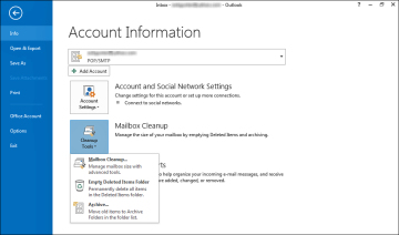 Archiving Messages | Managing Email in Microsoft Outlook