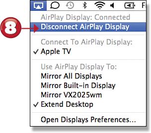 how to turn off airplay on mac