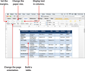 Working with Page Layout and Design in Word for Mac | Building a ...