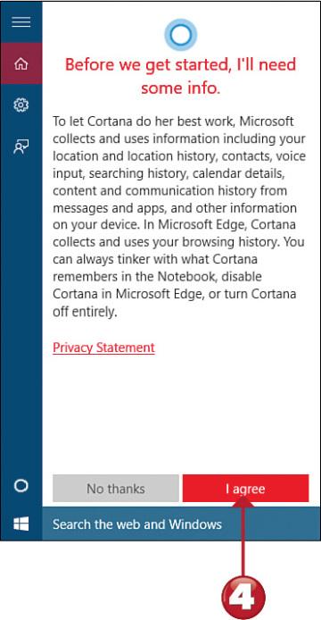 Easy Windows 10: Using Cortana Search