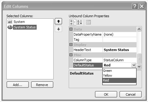 Defining Custom Column and Cell Types | Presenting Data with