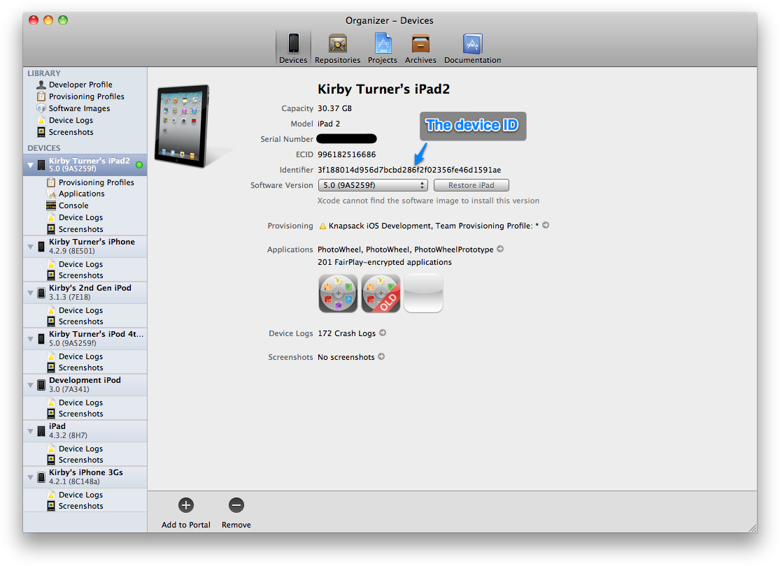 Using the iOS Provisioning Portal | Learning iPad