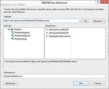 Web Services | Working with Data in Your Windows 8 Application