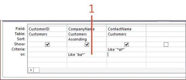 Selecting Data Using Queries in Microsoft Access 2013