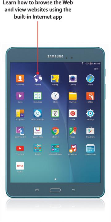 Samsung Tablet Browser