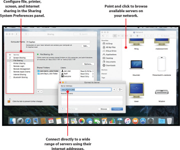 Sharing Files, Devices, and Services on Mac OS X (El Capitan Edition