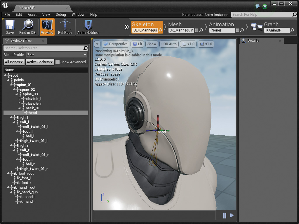 Setting Up Head IK | Character Inverse Kinematics | InformIT