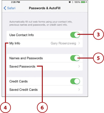 how to add new website to autofill password