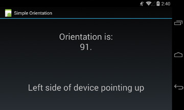 Handling Screen Orientation Changes   Advanced Android