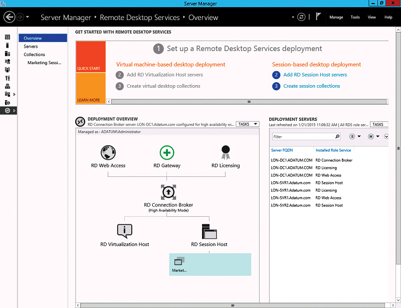 Planning and Deploying Session-based Virtual Desktops | Microsoft