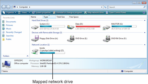 Mapping a Network Folder to a Local Drive Letter | Accessing and