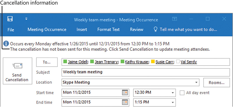 Manage Scheduling in Microsoft Outlook 2016 | Microsoft