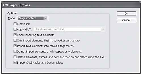 Importing and Exporting XML | Real World Adobe InDesign CS4: XML ...
