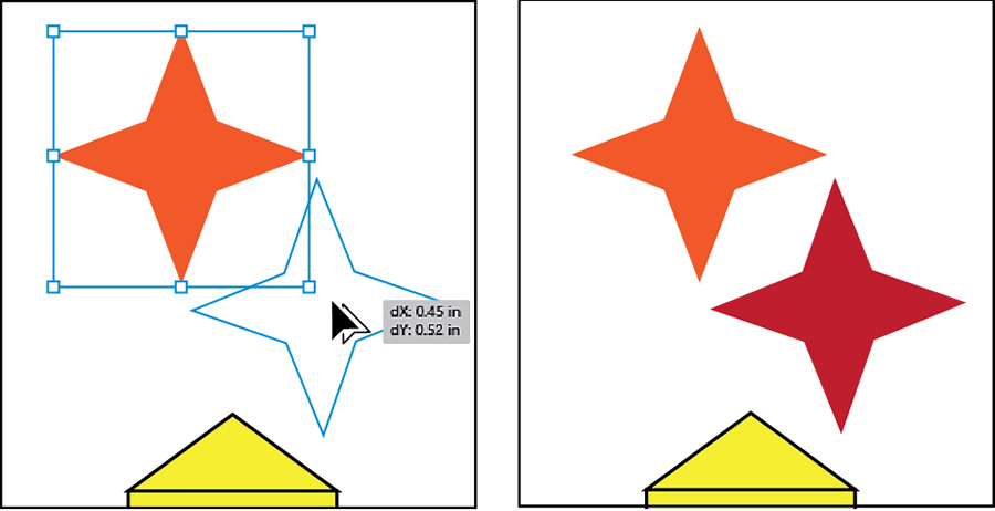 Creating Stars Working With Basic Shapes In Adobe Illustrator Cc