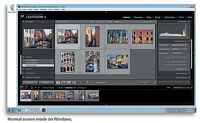 Toggling screen modes > Introducing the Workspace in Adobe