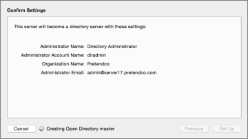 OS X Server Essentials 10 10: Configuring Open Directory