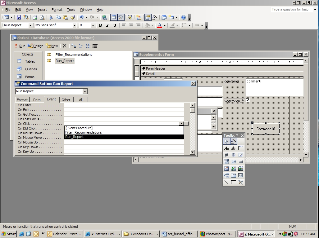 Using Macros and Switchboards in Access | Microsoft Office