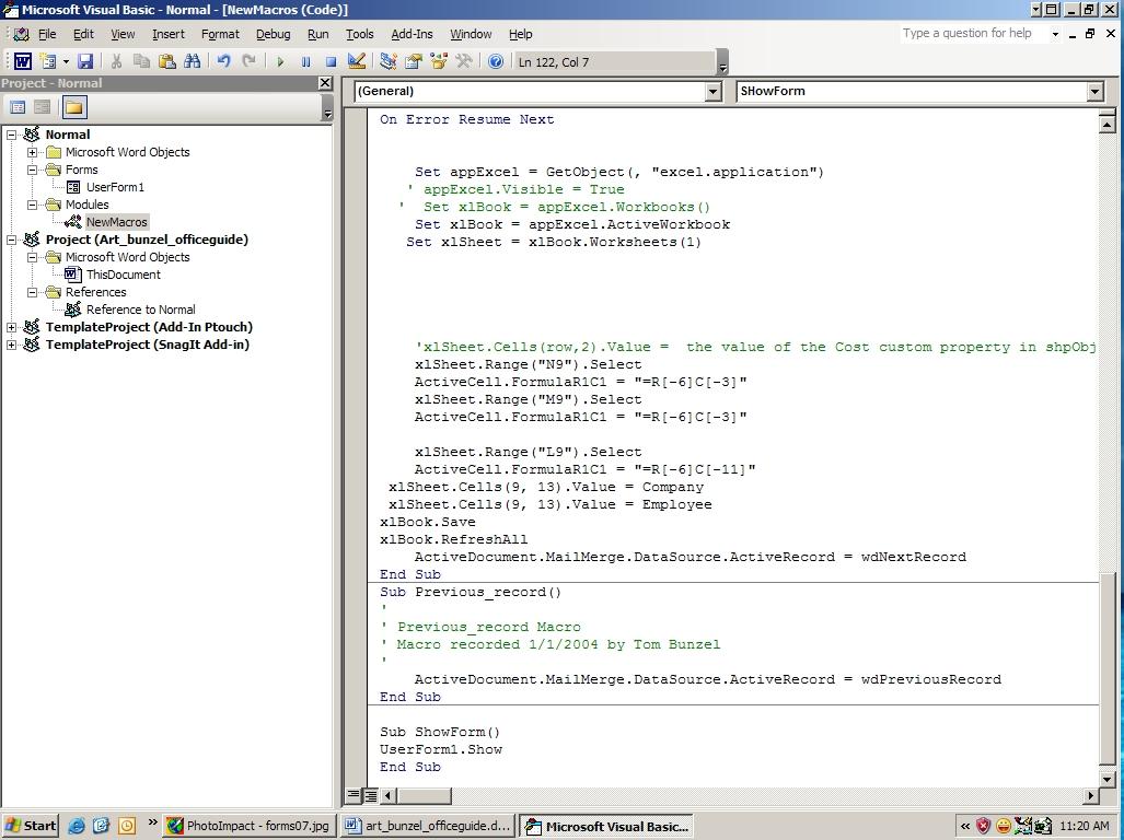 on error resume next c sap pp support resume excel vba resume