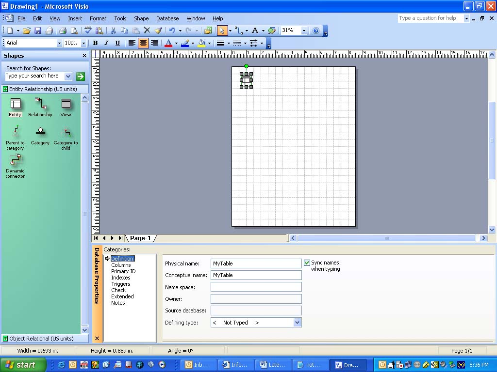 microsoft s visio for database folks sql server reference guide