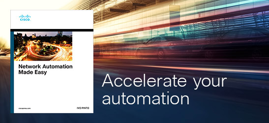 Network Automation Made Easy, from Cisco Press