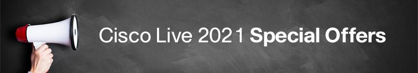 Cisco Live 2021: Save up to 50%*