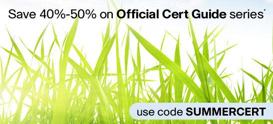 Shop the Summer of Certification Sale from Cisco Press