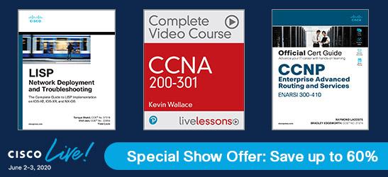 Cisco Live 2020 Special Show Offer: Save up to 60%