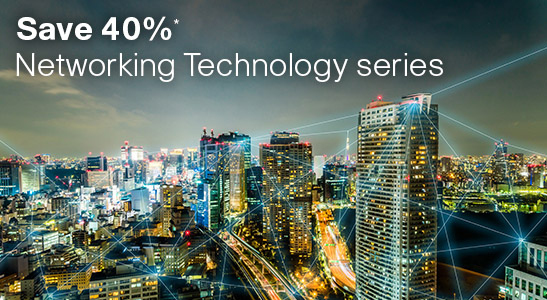 Save 40% on the Networking Technology series from Cisco Press