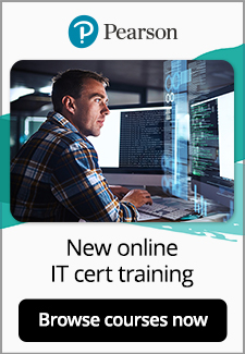 Explore new, all-inclusive Pearson Professional IT Certification Training Courses for just $250