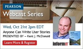 Kent McDonald Webcast