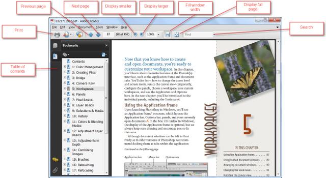 Reading a PDF
