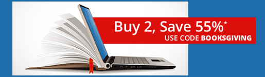 Buy 2, save 55% on books and eBooks in the Booksgiving Sale from Pearson IT Certification