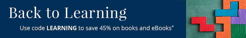 Back to Learning: Save 45% on books and eBooks